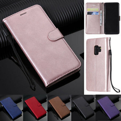 $ CDN8.66 • Buy For Samsung S21 S20 S10 S9 S8 Plus Note 20 Book Wallet Leather Flip Cover Case