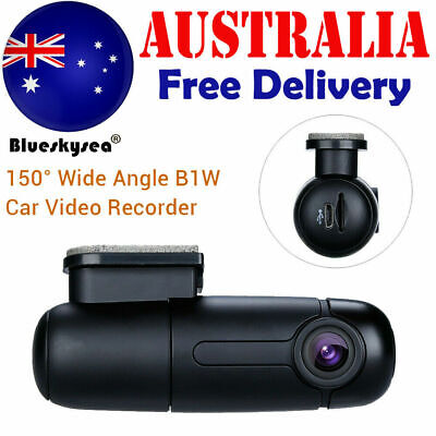 AU78.99 • Buy B1W 1080P Mini WiFi Car Dash Camera Dashboard 360° Rotate Capacitor Parking Mode