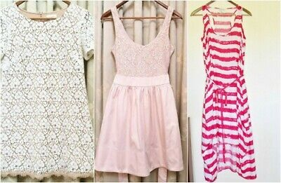 AU10 • Buy Bulk 3x Dresses Witchery & Forever New Size 8 And 6