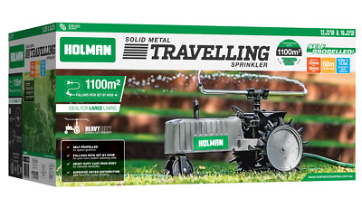 AU239 • Buy Holman Solid Metal Travelling Sprinkler Tractor