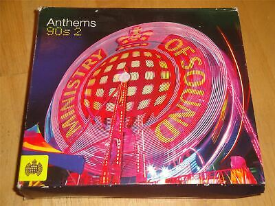 Ministry Of Sound Anthems 90s 2  3 X CD Set The Greatest Hits Of The Nineties • 4.99£