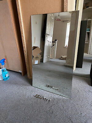 £25 • Buy Plain Wall Mirror With Fixings