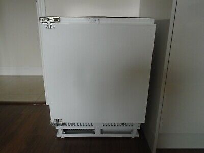 HOOVER HBFUP130NK Integrated Undercounter Freezer Used For A Short Time Only • 125£
