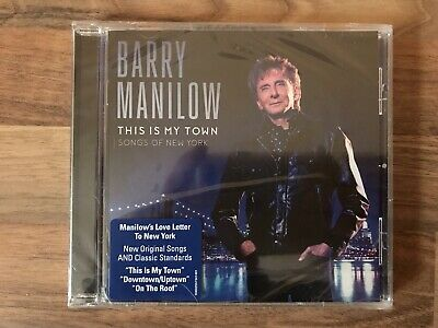 Barry Manilow - This Is My Town CD - New, Sealed. • 4.79£