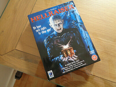 Hellraiser  4 Disc Box Set DVD • 6.95£