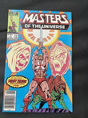 $11.50 • Buy Masters Of The Universe # 1 F/VF Star 1986 TV Series He - Man Skeletor Newstand
