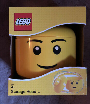 £20 • Buy LEGO Large Storage Container Head, Boy