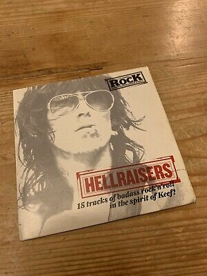 HELLRAISERS CLASSIC ROCK MAG ISSUE 126 FROM 2008 -CD Only • 0.50£