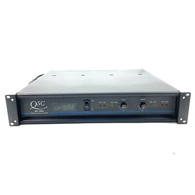 $ CDN253.73 • Buy QSC MX 1500A Professional Stereo Amplifier 500 Watts @4 Ohms /ch Tested Working