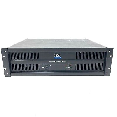 $ CDN196.64 • Buy QSC ISA 280 Power Amplifier  2 Channel  300 Watts At 4 Ohms Tested & Working