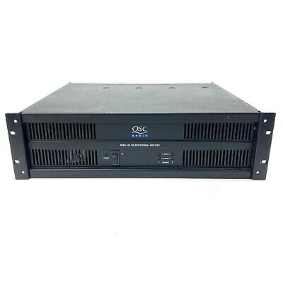 $ CDN348.88 • Buy QSC ISA 750 Professional Rack Mount Power Amplifier 750W Tested & Working