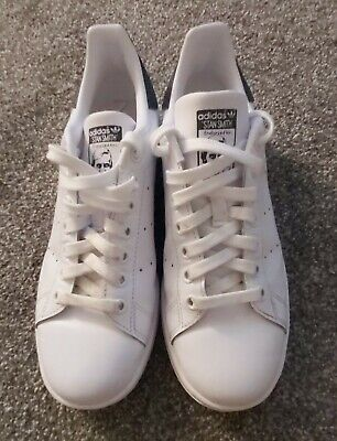 AU26.71 • Buy Adidas San Smith Women Shoes - White, UK 6 - Only Worn Once - FREE POSTAGE