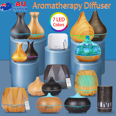 AU20 • Buy Aroma Aromatherapy Diffuser Essential Oil Ultrasonic Air Humidifier LED Purifier