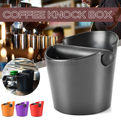 AU17.49 • Buy Coffee Knock Bin Espresso Grinds Tamper Waste Box Container Tamp Tube AU Stock