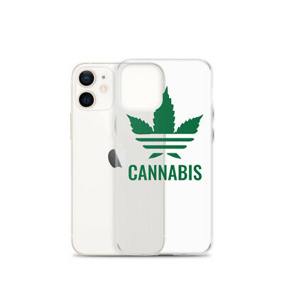 AU22.96 • Buy Adidas Cannabis IPhone Case Marijuanai Lover Phone Case