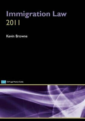 Immigration Law 2012 By Browne Book The Cheap Fast Free Post • 8.49£
