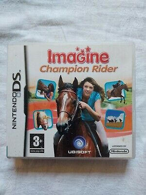 Nintendo Ds Game Imagine Champion Rider Complete Manual Nice Condition 3+  • 5£
