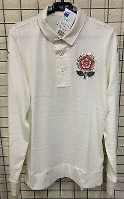 BNWT Umbro England 150 Years Classic Rugby Jersey - Size M (See Description) • 25£