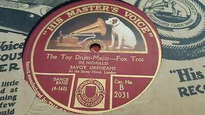 Savoy Orpheans The Toy Drum Major & When I Think Of You Hmv B2031 • 3.99£