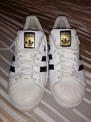 AU8.92 • Buy Adidas Superstar Trainers, White, Size 7 L@@K