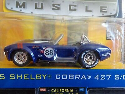 $19.99 • Buy 1965 Shelby Cobra 427 S/c Jada Bigtime Muscle Wave 10 1/64 Collector # 112