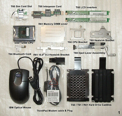 IBM Lenovo ThinkPad T60 Parts ...and Other PC Parts - Bargain! • 50£
