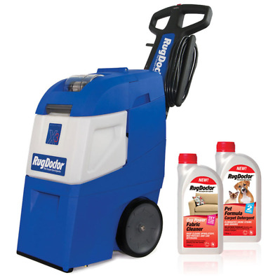 Rug Doctor Mighty Pro X3 Carpet Cleaner + Pet Formula & Oxy Power Detergents New • 537.99£