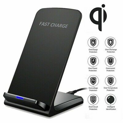 AU9.99 • Buy For Apple IPhone 11 Pro XS Max XR X 8 Plus Stand Fast Wireless Charger Charging