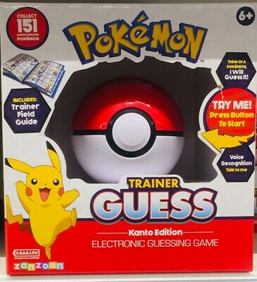 Pokemon Trainer Guess Ball Toy (brand New) Voice Recognition Kanto Edition • 16£