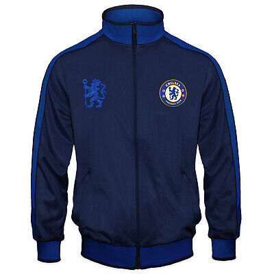 £24.99 • Buy Chelsea FC Boys Jacket Track Top Retro Kids OFFICIAL Football Gift
