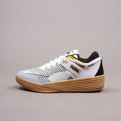Puma Clyde All-Pro Kyle Kuzma White Pebble Basketball  New Men Shoes 194835-01 • 114.49£
