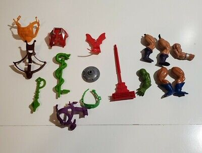 $10 • Buy Lot-Vintage 1980's He-Man MOTU Weapons & Parts Masters Of The Universe