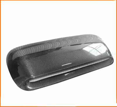 $165.55 • Buy Carbon Fiber Hood Scoop Bonnet Vent Cover For Subaru Impreza WRX STi 2002-2003