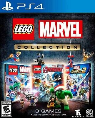 AU42 • Buy LEGO Marvel Collection 3 Games Superheroes Avengers PS4 New FAST POST