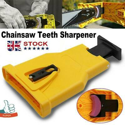 £5.88 • Buy UK Chainsaw Teeth Sharpener Chain Saw Blade Sharpening Grinder Tool Easy To Use