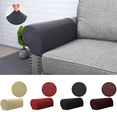 £8.46 • Buy Removable Arm Stretch Sofa Couch Chair Protector Armchair Covers Armrest