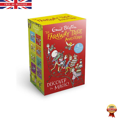 £13.99 • Buy The Faraway Tree Adventures 8 Book Boxset Enid Blyton 5+ Years Learning Gift