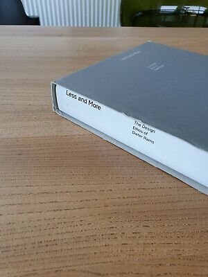 £120 • Buy Less And More By Dieter Rams X Suntory Museum Osaka X Shimada (Japanese Edition)