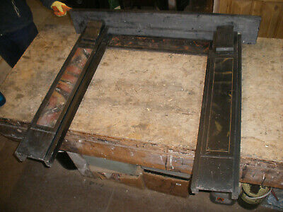 £225 • Buy Reclaimed Victorian Slate Fireplace Surround.