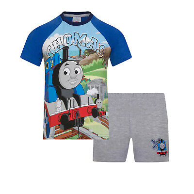 £4.99 • Buy Thomas The Tank Engine & Friends Boys Pyjamas Short Baby Toddler OFFICIAL Gift