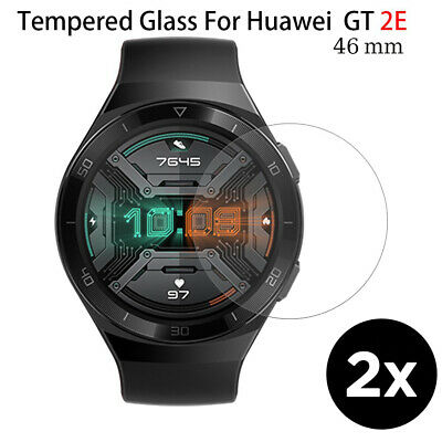AU7.99 • Buy 9H Tempered Glass 2.5D Clear Anti-Scratch Screen Protector For Huawei Gt2e- 46mm