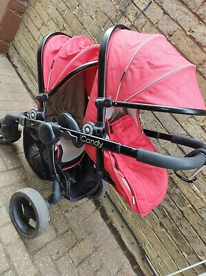 Icandy Peach 3 Double Pushchair • 120£
