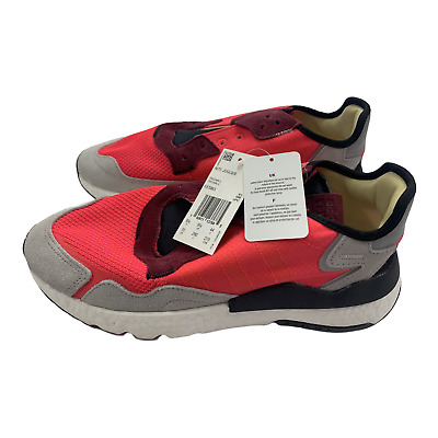 AU12.63 • Buy Adidas Men's Nite Jogger Originals EE5883 Shoes Size 10 New Red White Gray