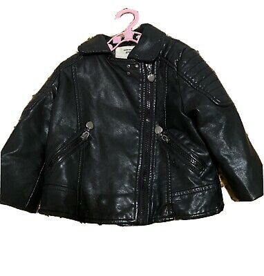 Baby Girl Leather Jacket • 10£