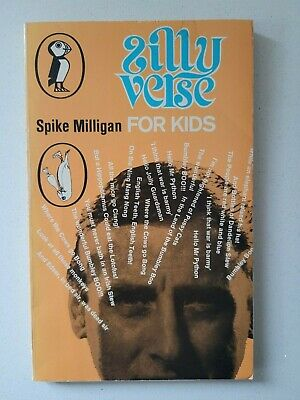 Vintage Silly Verse For Kids Spike Milligan 1971 A Puffin Book Fiction  • 4£