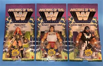$74.99 • Buy WWE 2021 Wave 5 Masters Of The Universe Action Figures Lot Of 3 - NEW!