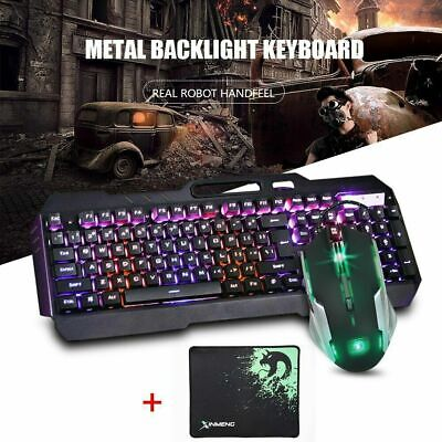 AU43.03 • Buy K618 Gaming Keyboard Mechanical Keyboard And Wired Mouse +Mouse Pad Three-piece