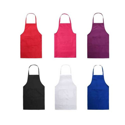 £3.59 • Buy Kitchen Cooking BBQ Aprons Wholesale Catering Apron Butcher Craft Baking Chefs