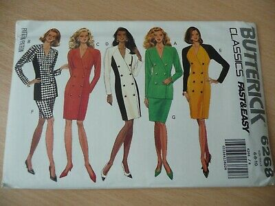 Butterick Dressmaking Pattern 'Classics' 6268; Ladies Dress, Top, & Skirt • 3.50£