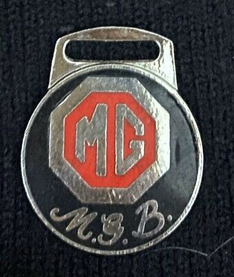Enamelled Metal MGB Motor Cycle Fob • 2.99£